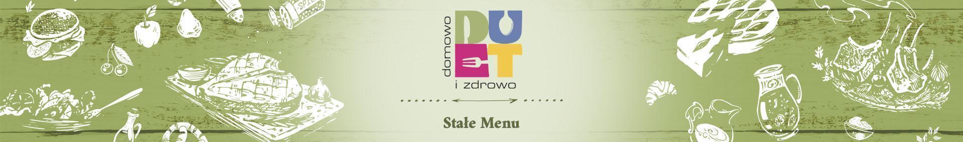 menu stałe